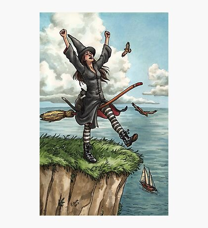 Everyday Witch Tarot - The Fool Photographic Print