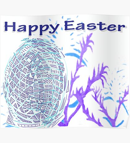 Happy Easter 2017 Poster