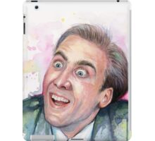 Nicolas Cage Meme You Don't Say iPad Case/Skin
