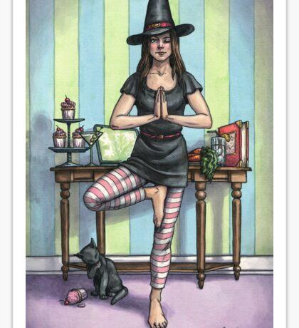Everyday Witch Tarot - Temperance Sticker