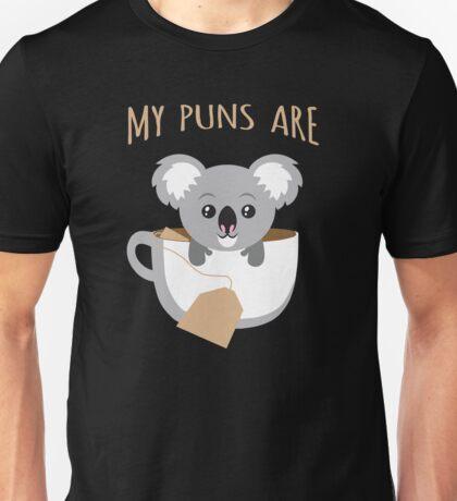 I Love My Koala and They Are Tea Unisex T-Shirt
