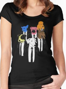 Real Reservoir Dogs Women's Fitted Scoop T-Shirt
