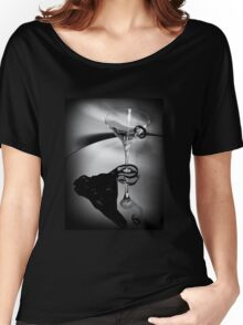 Martini Glass Charm Women's Relaxed Fit T-Shirt