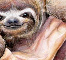 Baby Sloth Watercolor | Animal Art Sticker