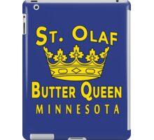 Saint Olaf Butter Queen Minnesota iPad Case/Skin