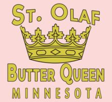 Saint Olaf Butter Queen Minnesota by Greenbaby