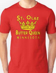 Saint Olaf Butter Queen Minnesota Unisex T-Shirt