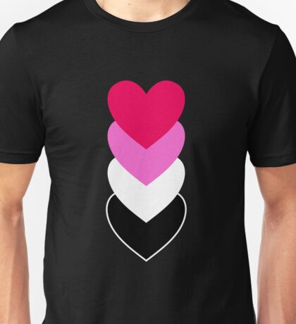 Reciprosexuality in Shapes Unisex T-Shirt
