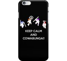 Keep Calm and Cowabunga iPhone Case/Skin