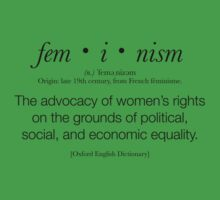 Feminism Defined Kids Clothes
