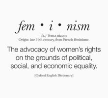 Feminism Defined by valyrianheart