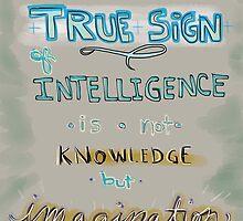 Einstein - True Sign  by cinthdegree
