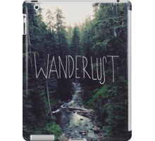 Wanderlust Rainier Creek iPad Case/Skin