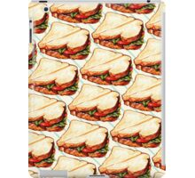 Lunch Room Sandwich Pattern iPad Case/Skin