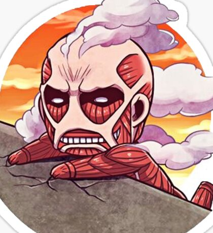 Attack on Titan Chibi Sticker