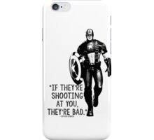 Captain America Marvel Avengers Typography iPhone Case/Skin