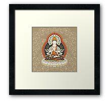 Mahavairocana in Vajradhatu Framed Print