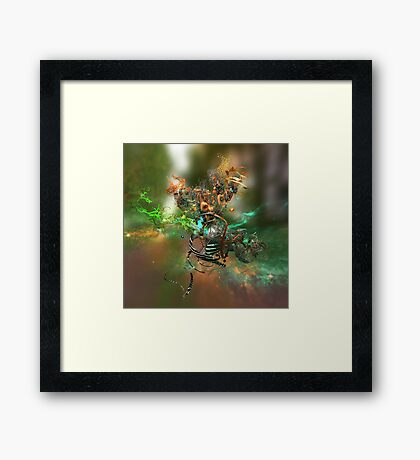 Synthetic Study One Framed Print