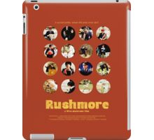 Rushmore featuring the many faces of Max Fischer iPad Case/Skin