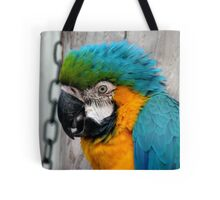 Don't You Just Love Hair Gel..It Adds Height!! - Macaw - NZ Tote Bag