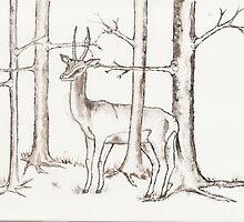 Gazelle by Elizaza