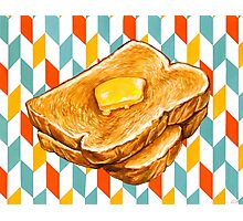 Butter Toast Photographic Print