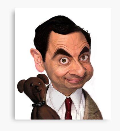 Atkinson aka Mr. Bean Canvas Print