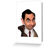 Atkinson aka Mr. Bean Greeting Card