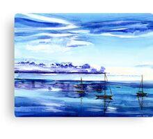 Light N Water Canvas Print