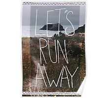 Let's Run Away V Poster