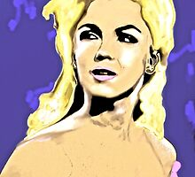Marilyn, What a Beautiful girl by Saundra Myles
