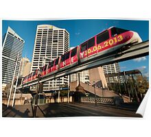 Farewell to the Monorail Poster