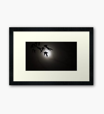 The Midnight Dance. Framed Print