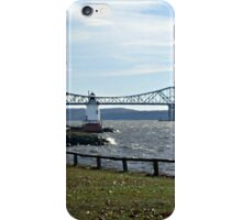 Sleepy Hollow Lighthouse on the Hudson River, NY iPhone Case/Skin