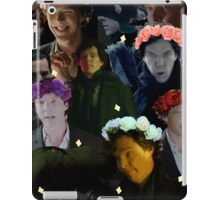Sherlock in season three iPad Case/Skin