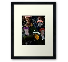 Sherlock in season three Framed Print