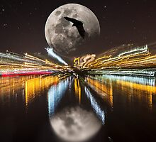 night life by ketut suwitra