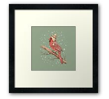 The First Snow  Framed Print