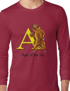 Right of the line Long Sleeve T-Shirt