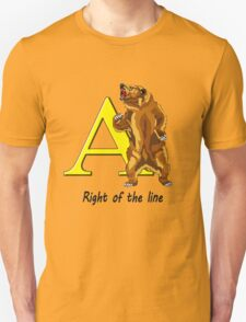 Right of the line T-Shirt