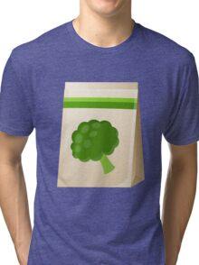 Glitch Seeds seed broccoli Tri-blend T-Shirt