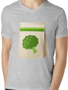 Glitch Seeds seed broccoli Mens V-Neck T-Shirt