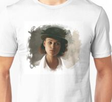 Keira Knightley fanart digital painting  Unisex T-Shirt