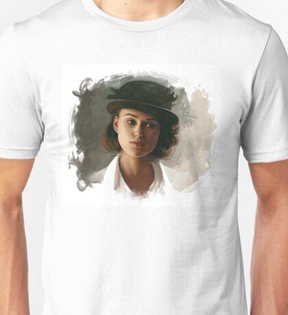 Keira Knightley fanart digital painting  Unisex T-Shirt