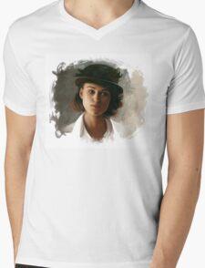 Keira Knightley fanart digital painting  Mens V-Neck T-Shirt