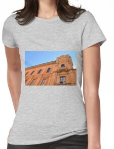 Beautiful classical building with decorative elements  Womens Fitted T-Shirt