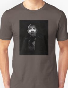 Bela Lugosi dracula - black and white digital painting Unisex T-Shirt