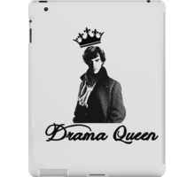 Sherlock, you're a drama queen iPad Case/Skin