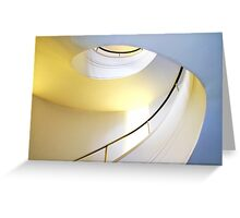 Architecture of Modern Art Greeting Card