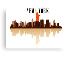 New York City Art Canvas Print